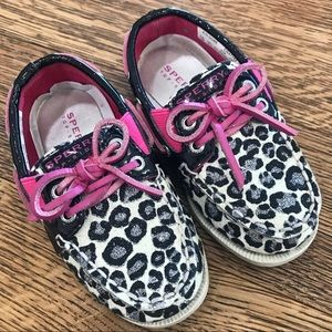 Sperry Top Sider Animal shoes toddler girl 7